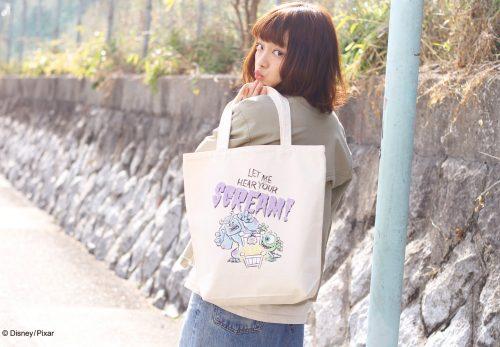 【原宿店】canvas tote bag MOMSTERS,INC  [4.14sat Release]
