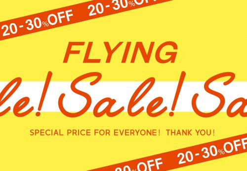 【Crisp各店・ONLINE SHOP】FLYING SALE [ 2018.6.18mon Start ]