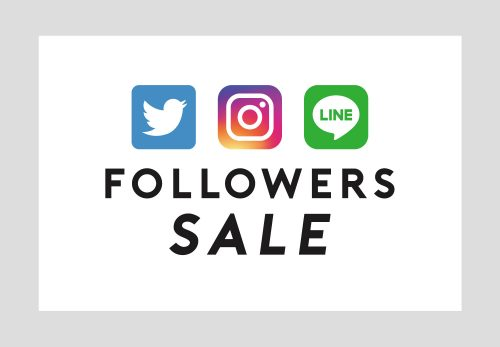 【REAL SHOP】FOLLOWERS SALE [ 12.10mon ~ 12.20thu ]