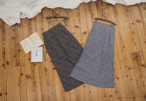 【福岡店】flower straight skirt [ 3.23sat Release ]