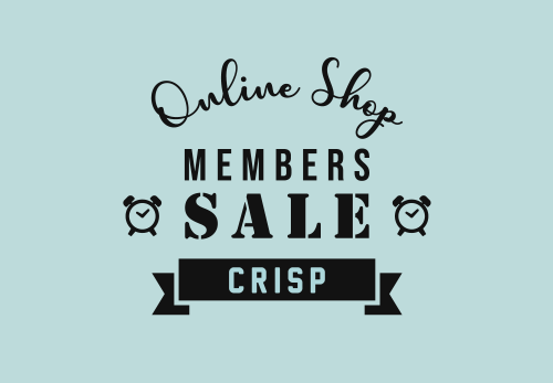 【ONLINE SHOP】MEMBERS SALE  [ 4.5fri 12:00 ~ 4.8mon 11:59 ]